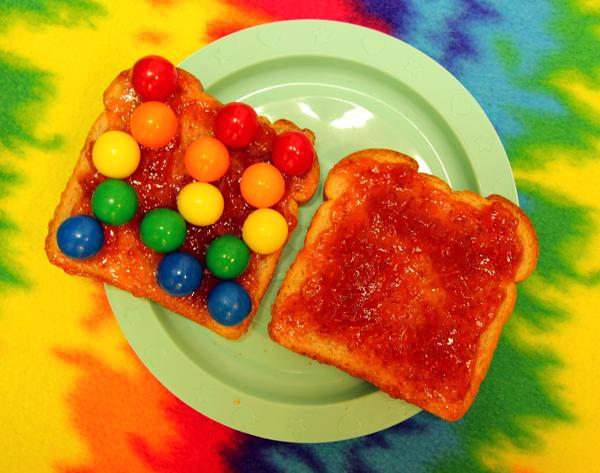 Kolorowy zawrót głowy – barwniki w jedzeniu
